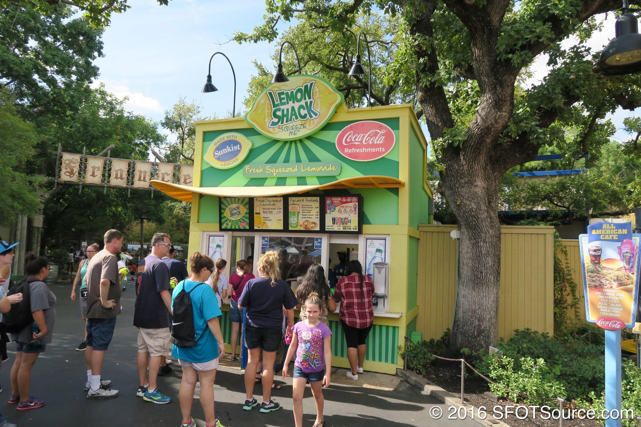 Lemon Shack serves up fresh-squeezed lemonade and more.