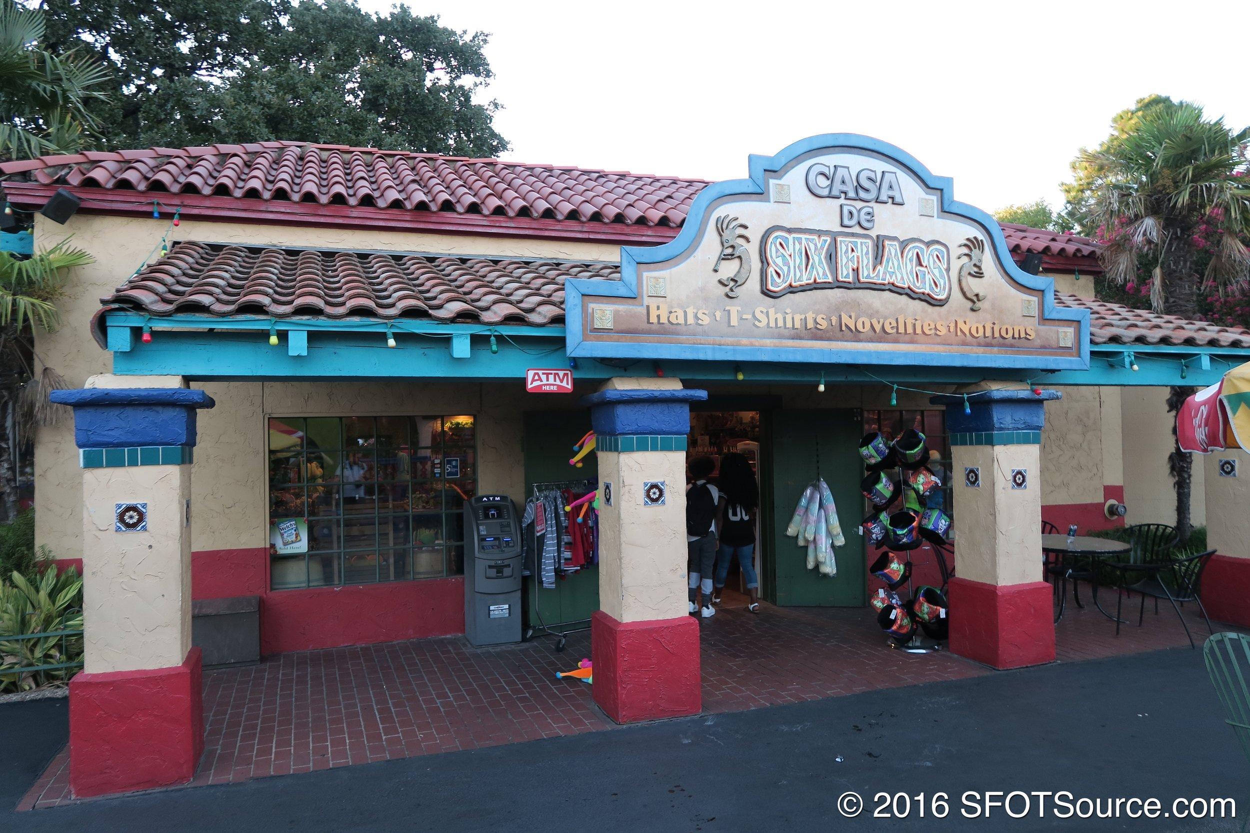 A look at Casa de Six Flags prior to a 2017 remodel.