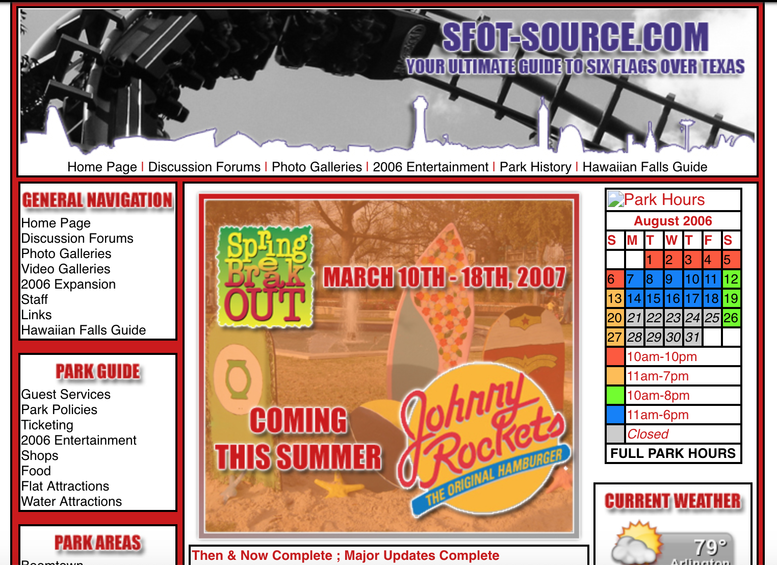 A look at SFOT Source from summer of 2007.