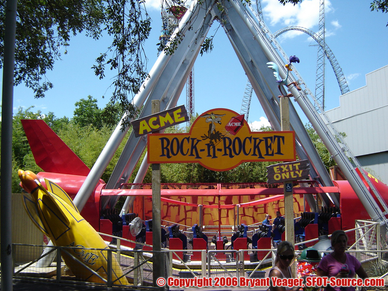 An overall look at ACME Rock-n-Rocket.