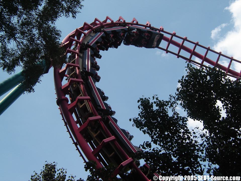 Flashback! featured six inversions.