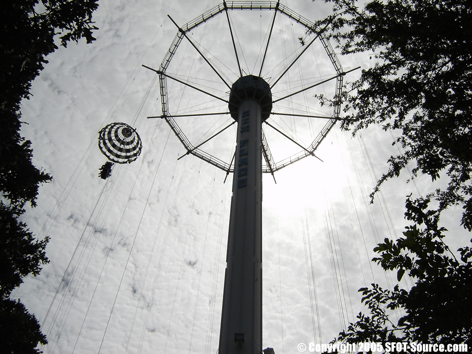 Texas Chute Out was eventually replaced by Texas SkyScreamer.