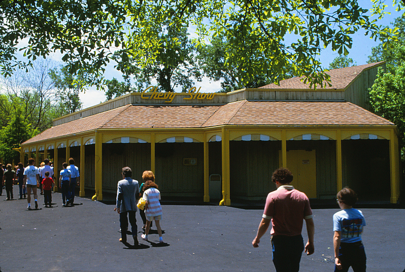 A look at the Chevy Show during its last year of operation in 1984. Credit: Six Flags Archives