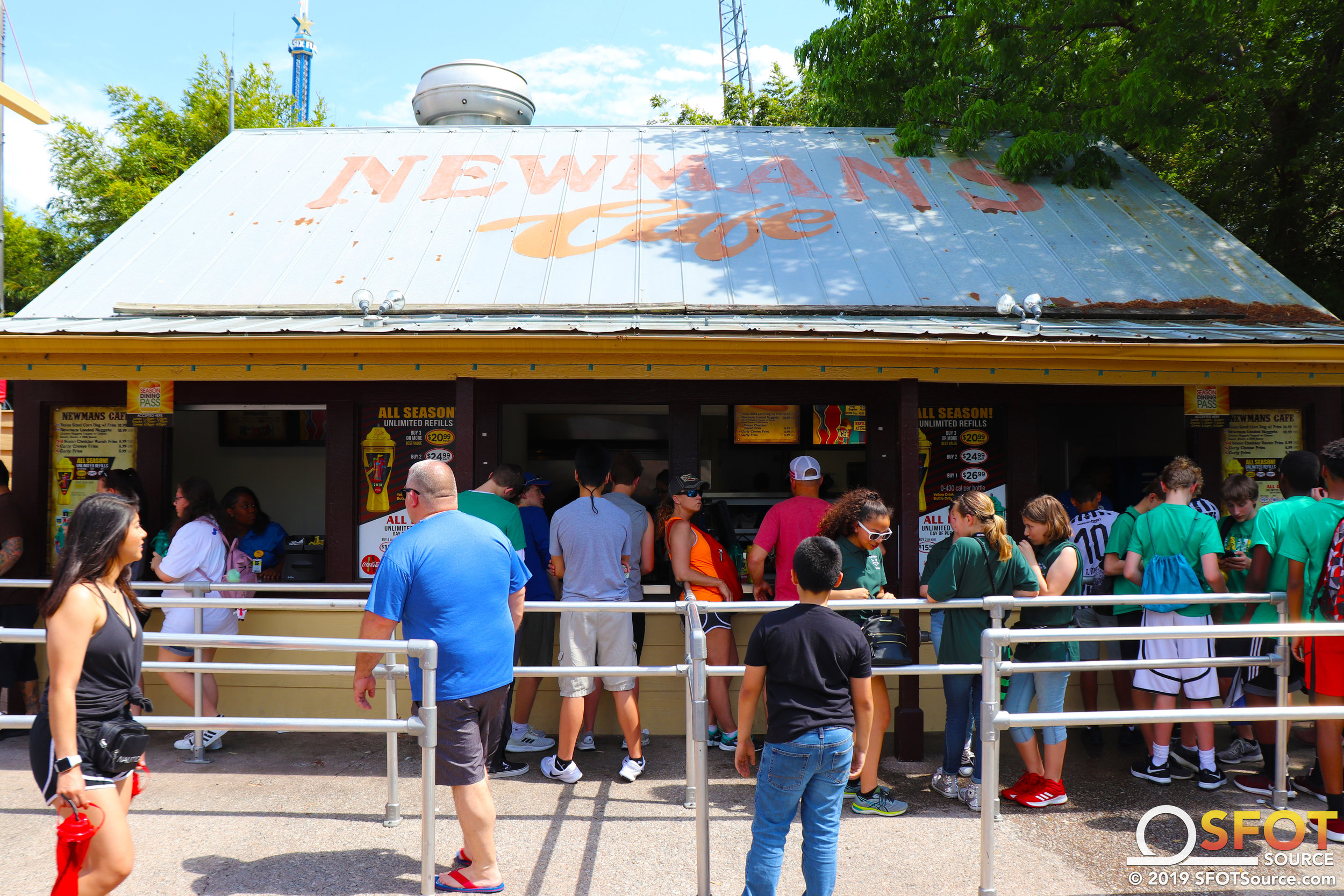 Newman's Cafe features multiple Dining Pass options.