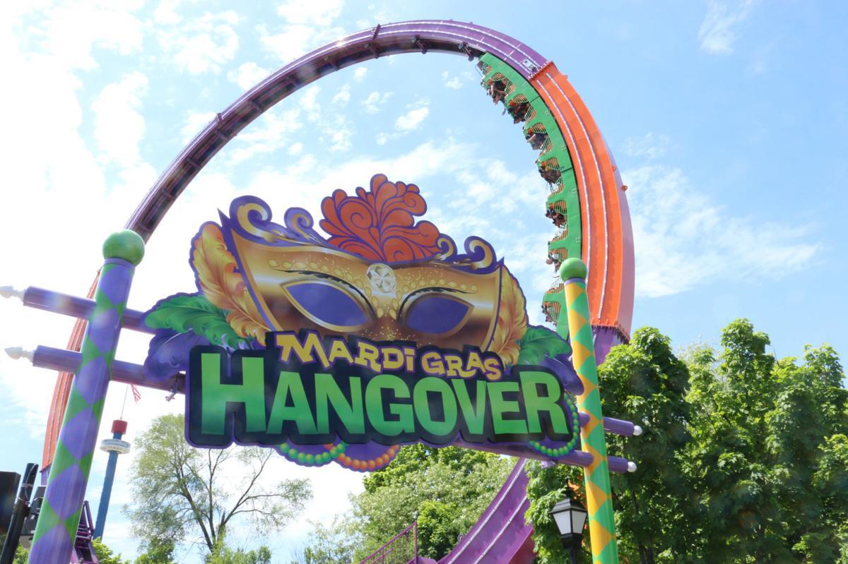 Mardi Gras Hangover located at Six Flags Great America.  Credit: Kenosha News