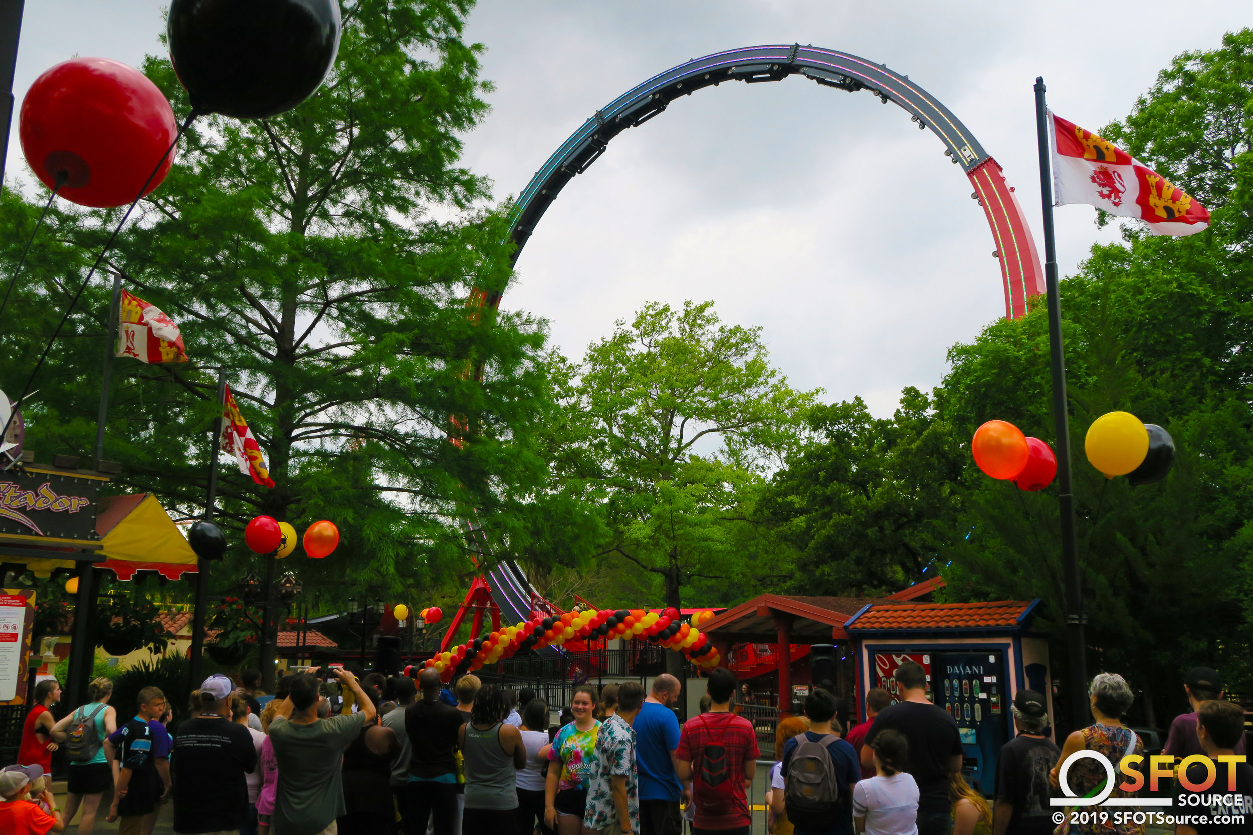 The El Diablo Grand Opening Ceremony took place on May 28, 2019.