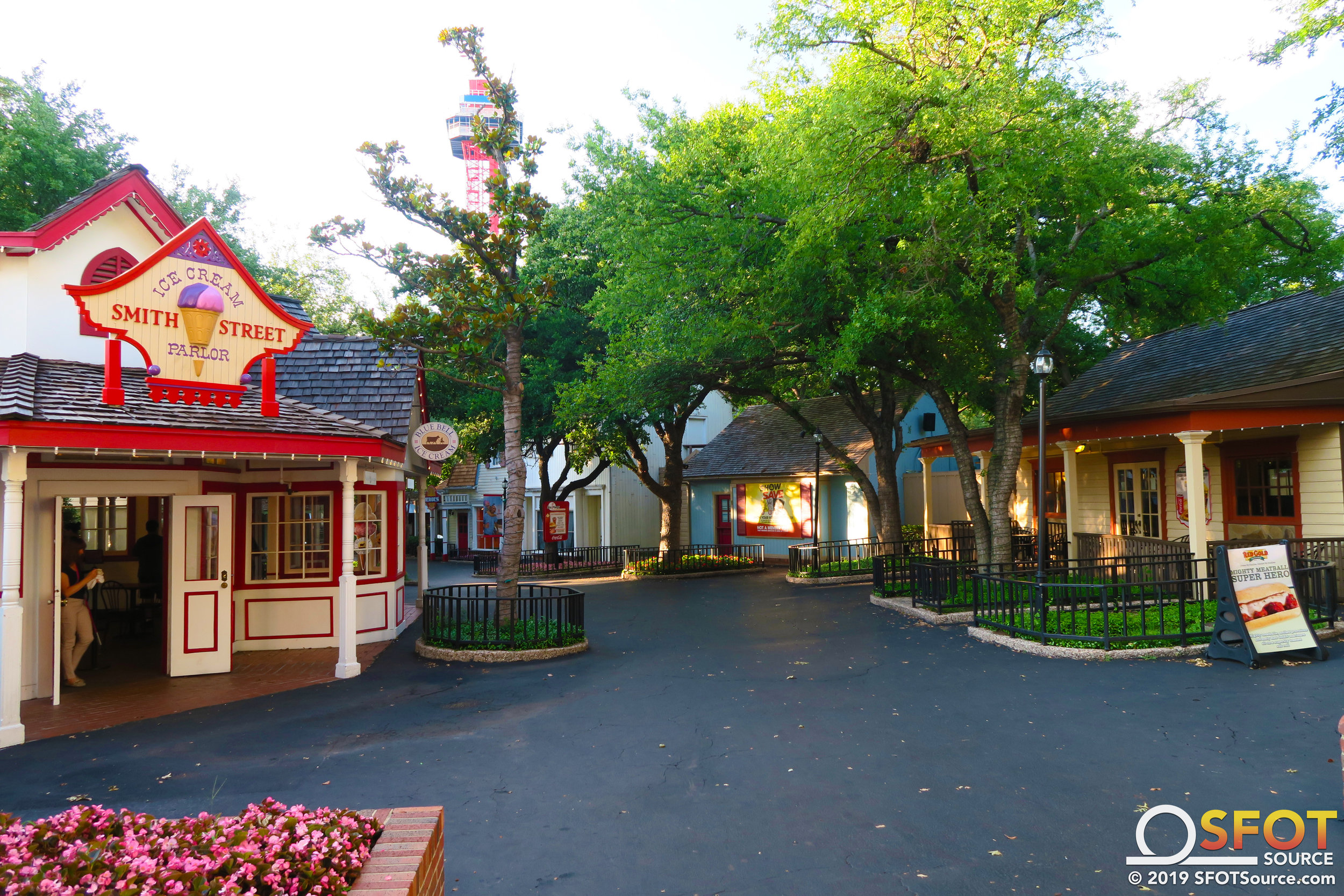 A look at Old South during the park's 2019 season.