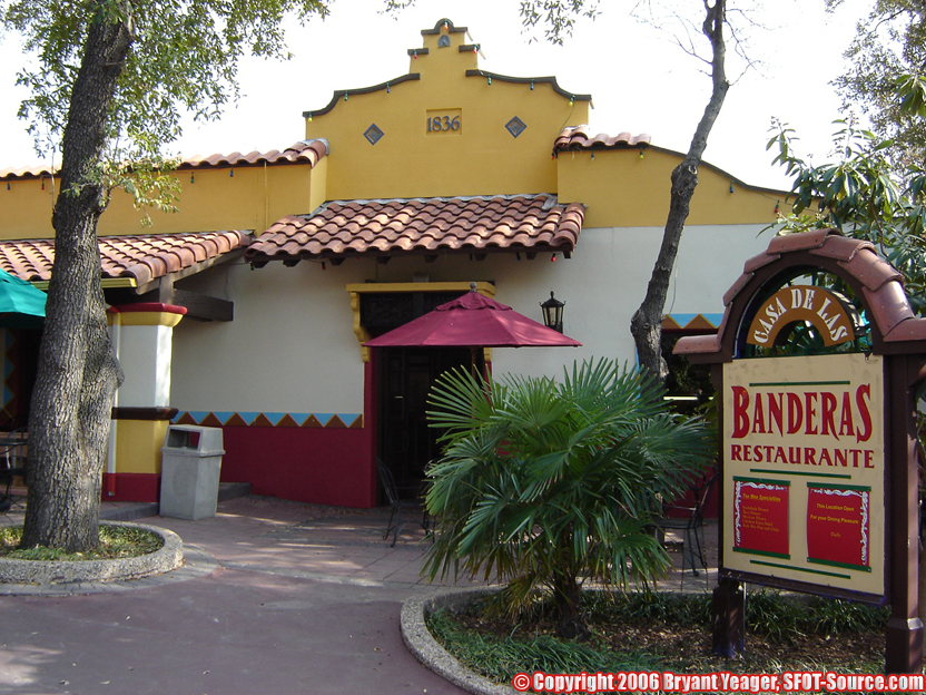 A look at Banderas Restaurante from the 2006 season.