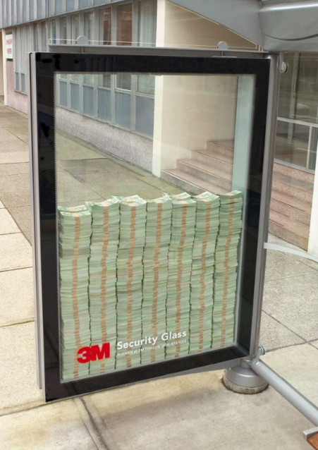 Example: Buzz Marketing - 3M Security Glass