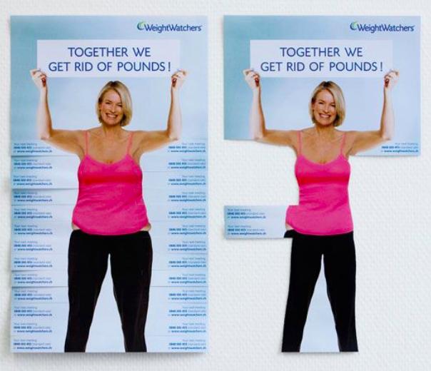Example: Wild Posting - Weight Watchers 2009