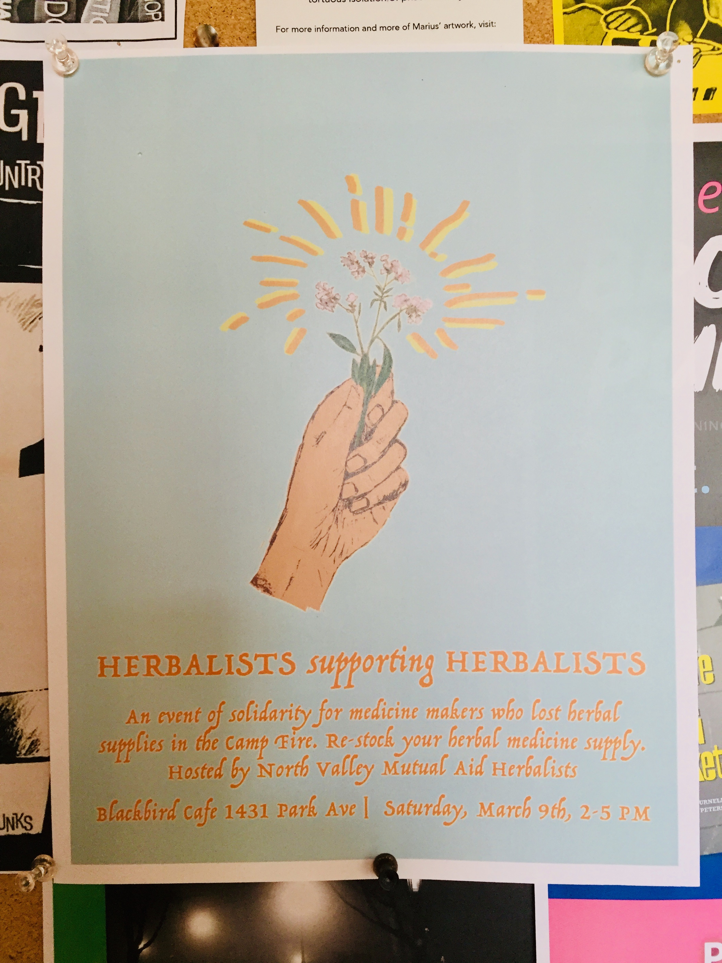 """Herbalists Supporting Herbalists"" Source: Lily Rothrock"