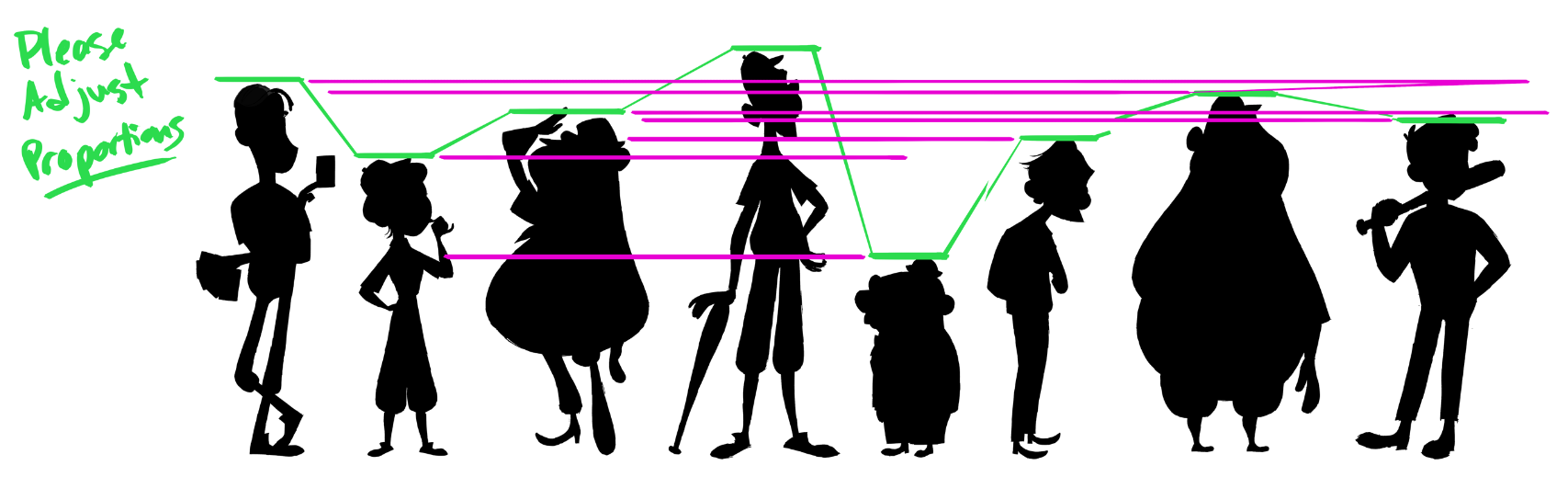 The Cast Proportion Notes