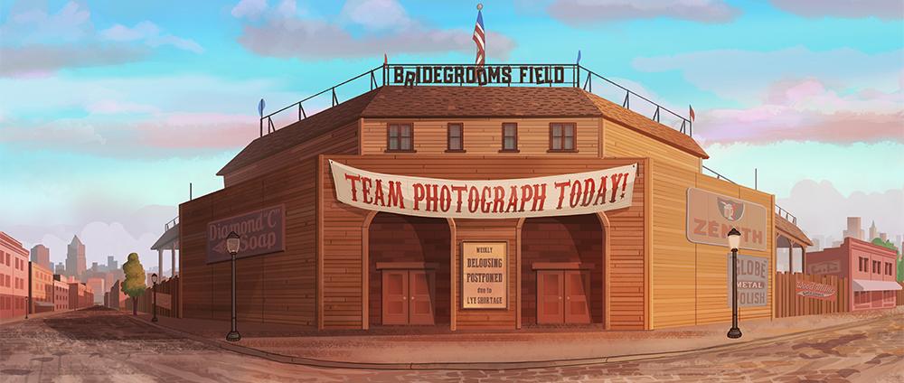 Bridegrooms Field Exterior by Tim Szabo