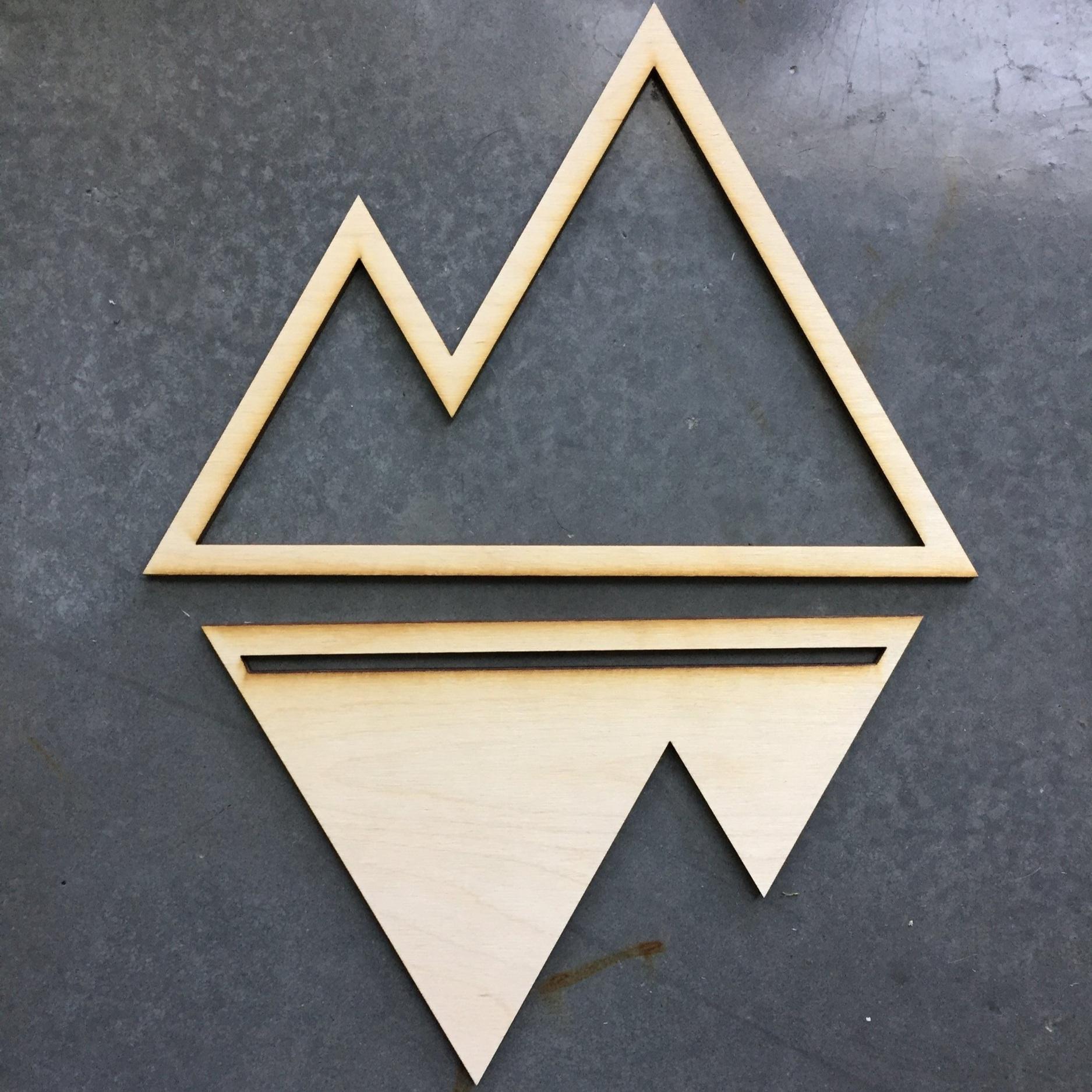 Wood+Mountain+Cutout+%7C+COLLECTANEA