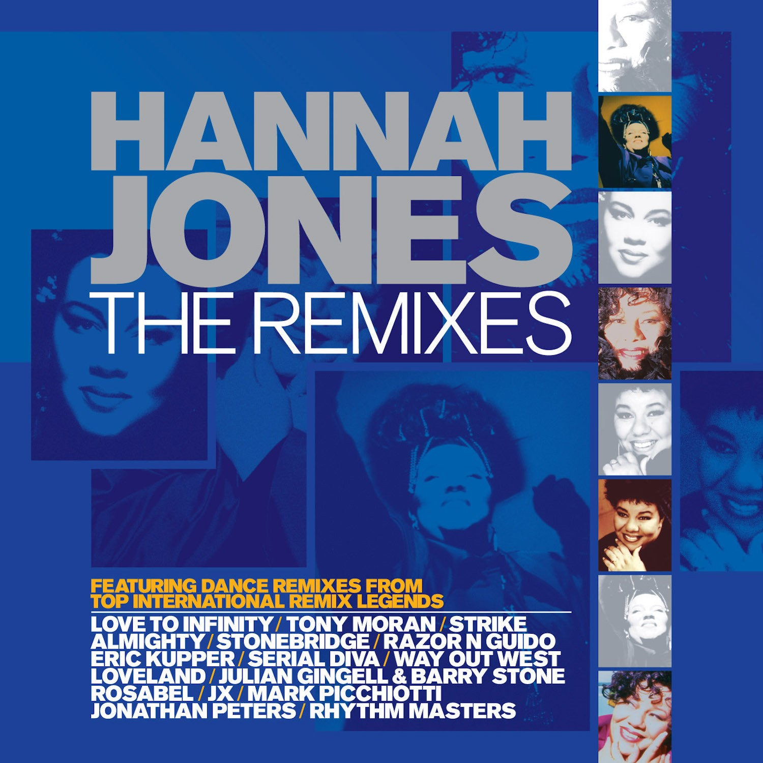 Hannah Jones - Hannah Jones is one of Britain's most talented performers. With her unique and gutsy powerhouse vocal she is one of those true divas who has stood the test of time — as popular now as she was when her debut release 'Bridge Over Troubled Water' reached the UK Top 30 in 1991.Read More →