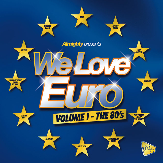 Various – Almighty Presents: We Love Euro (The 80's)