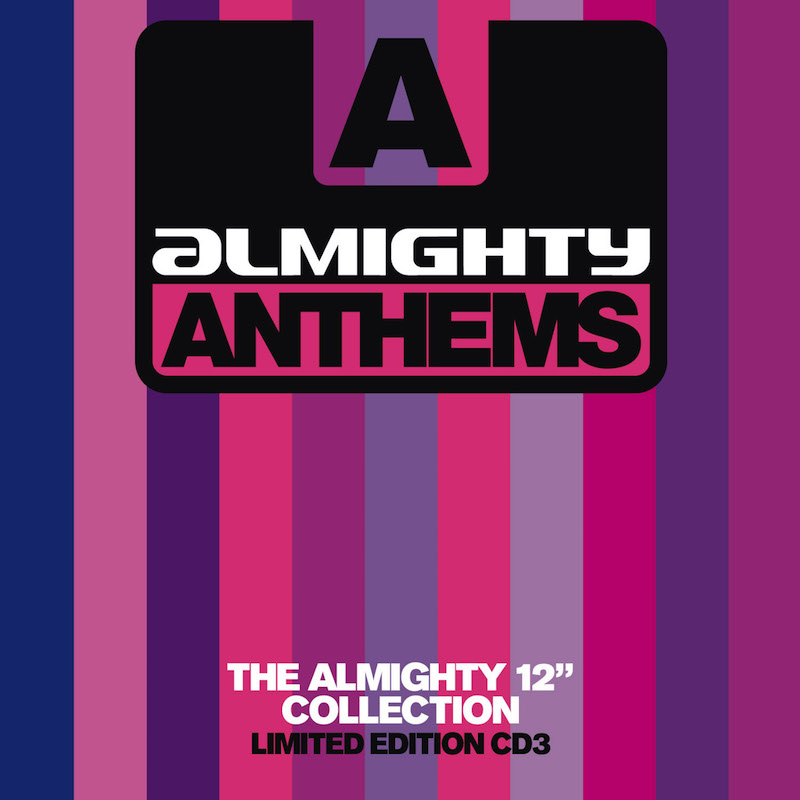 """ALMIGHTY ANTHEMS NOW ON SALE! - Wednesday 10th April 2019 - The Almighty CrewOur well loved Almighty Anthems albums, Volumes 1 and 2 are now on sale for only £8.99! Including radio edits and mixes of some of the biggest pop anthems. We have now made available the 3 DISC SET of Almighty Anthems Volume 2, which includes the bonus CDR.First released in 2007, it's 12"""" anthem mixes and edits include memorable No.1s of the time, transforming well loved pop into vibrant dance anthems."""