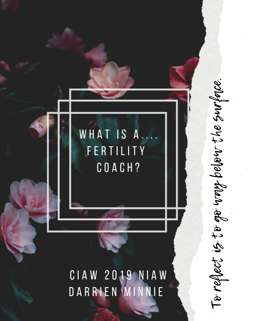 Fertility Coach, eh? - Imagine going through a hard season and feeling alone and craving for human connection. We can't always talk to everyone about these hard storms but we need to talk. A fertility coach is your person. Someone who likely has walked in the storm and knows and understands the type of storm you have been surrounded in. I have walked my storm and now I reach my hand out to you. I care for you I care for the whole you! The physical, emotional mental and spiritual wellness. I am hear to listen, offer you resources and evidence based information. Education of tools and coping skills, offering support - emotional support being a sounding board, listening to your lives experiences, or physical support: going to appointments with you, providing mind and body tools, or alternative treatments such as yoga for fertility. You are not in this alone. My heart breaks when I hear someone say they went through this and had no one to connect with. Nurturing you to regain your strength and resilience to move forward in your journey. Whichever way that looks like. #fertilitydoula #fertilitycoach#fertilityspecialist #yogaforfertility#yogainstructor #ciaw2019 #niaw2019#uncoveringinfertility#infertilityuncovered#darrienminniefertilitycoach #mindbody#mindfullyttc