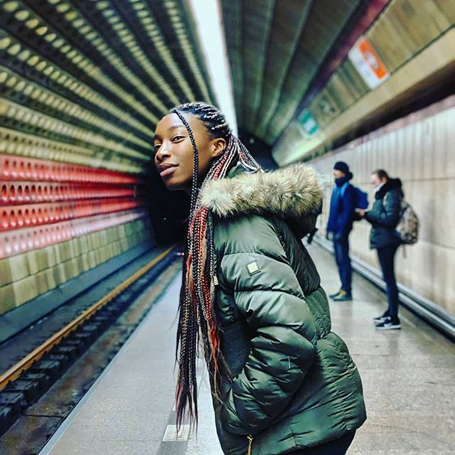 #travelcurls inspiration feature Check out this inspirational curly traveler @holdmelike • • • • • There's nothing like riding the metro in a new city and pretending you live there. #thankyougooglemaps . . . #girlslovetravel #blacktraveljourney #weworktotravel #passionpassport #travelnoire #wegotoo #femaletravelbloggers #girlsofcolourthatwander #sheisnotlost #blackgirlstraveltoo #digitalnomad #travelista #blacktravelmovement #wanderlife #mytravelgram #travelisthenewclub #blackpassportstamps #nomadnesstribe #melanintravel #blackandabroad #blacktravelista #rycurie #remoteyear #prague #czechia