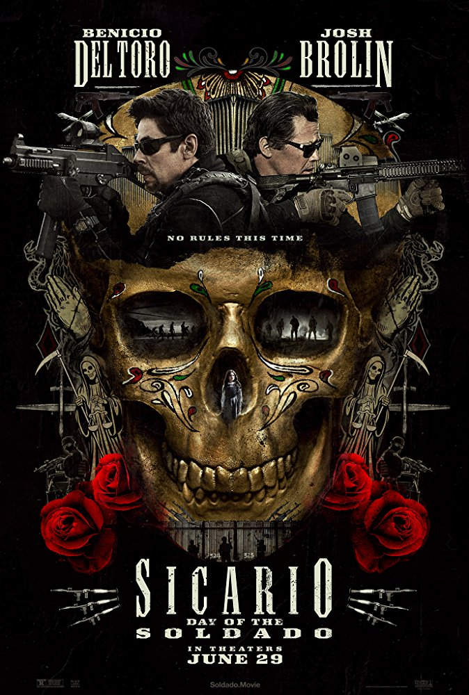 Sicario: Day of the Soldado - 2018Director: Stefano SollimaMusic: Hildur Guðnadóttir