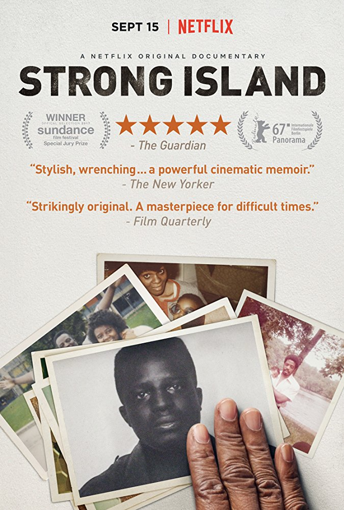 Strong Island - 2017Director: Yance FordMusic: Hildur Guðnadóttir and Craig SutherlandAwards:Cinema Eye Honors 2018 - nomination for best original music