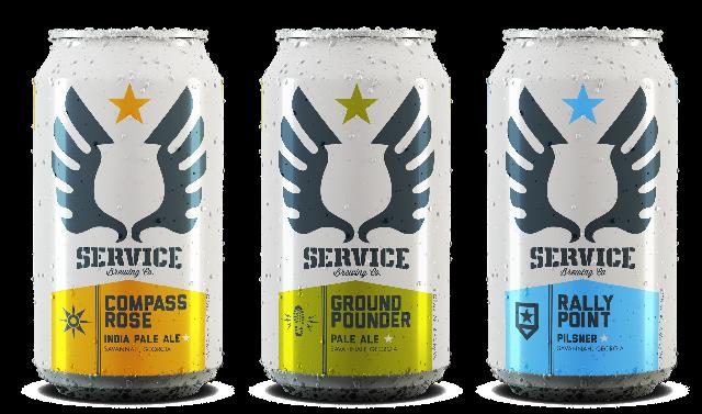 Photo courtesy of Service Brewing Company.