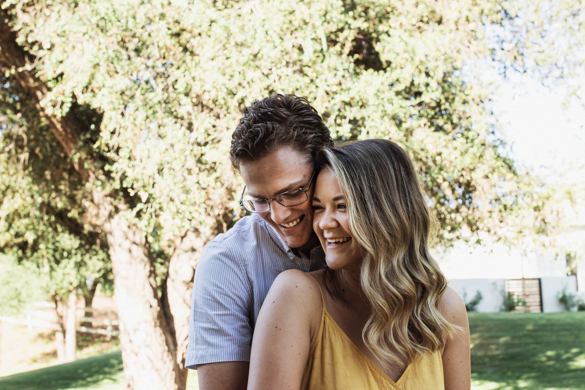 """Macy & Lief - """"You were SO easy to work with and made it so comfortable for people who aren't used to taking photos. You were quick to respond and very flexible!""""-Macy T."""