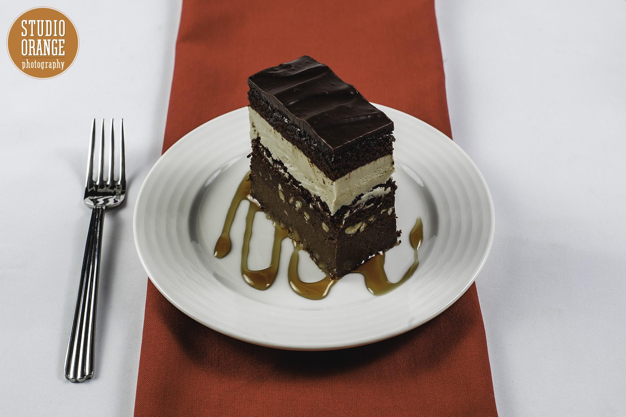 Chocolate Caramel Oblivion Cake -
