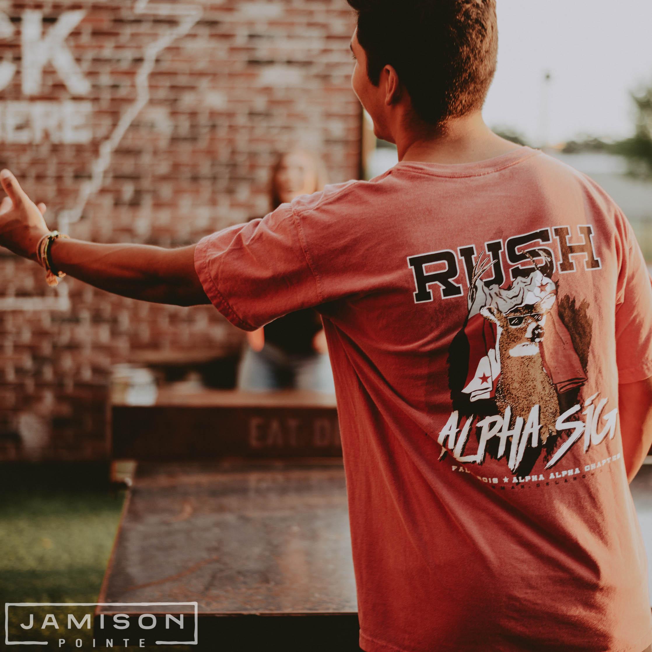 Alpha Sigma Phi Fall Rush Tee