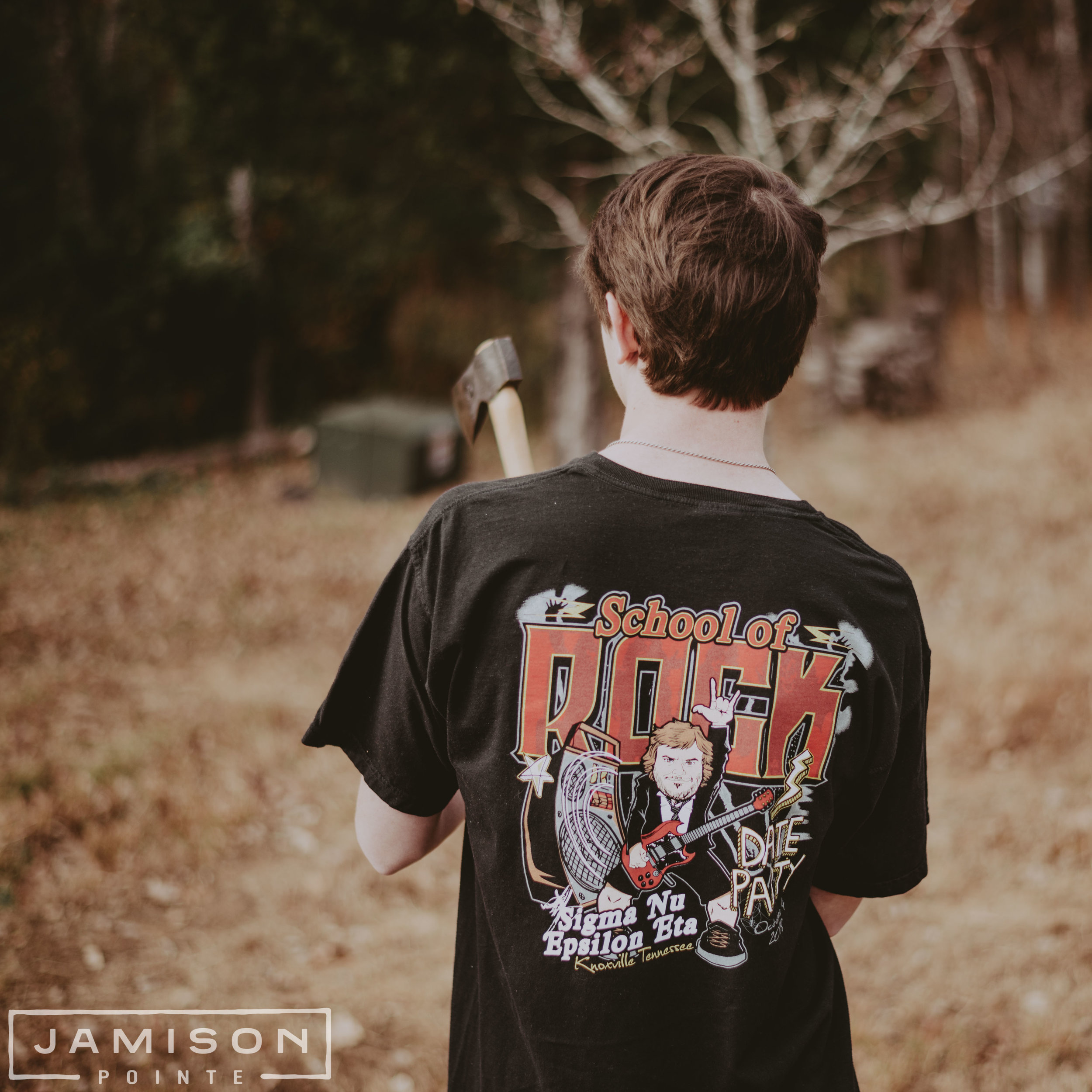Sigma Nu School of Rock T-shirt