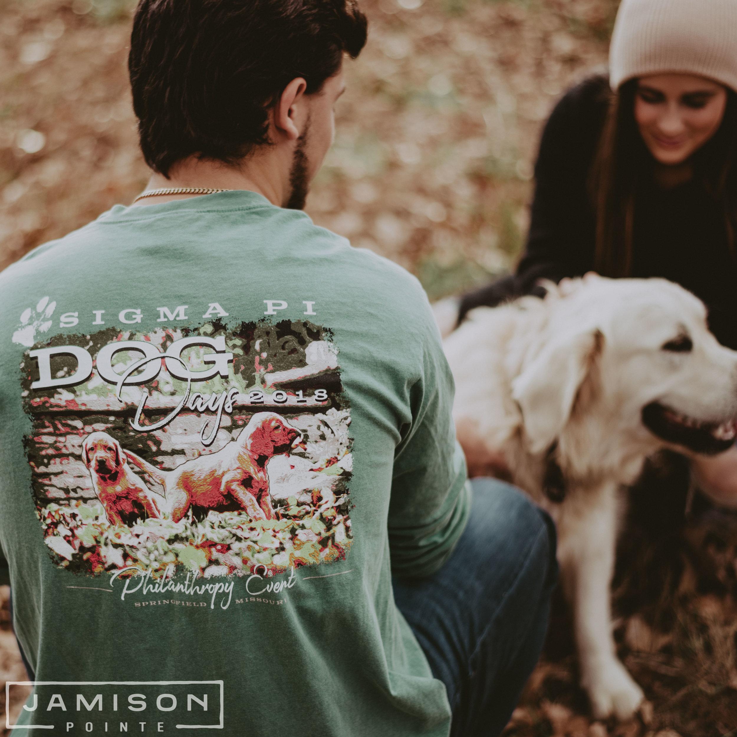 Sigma Pi Dogs Days Philanthropy Tee