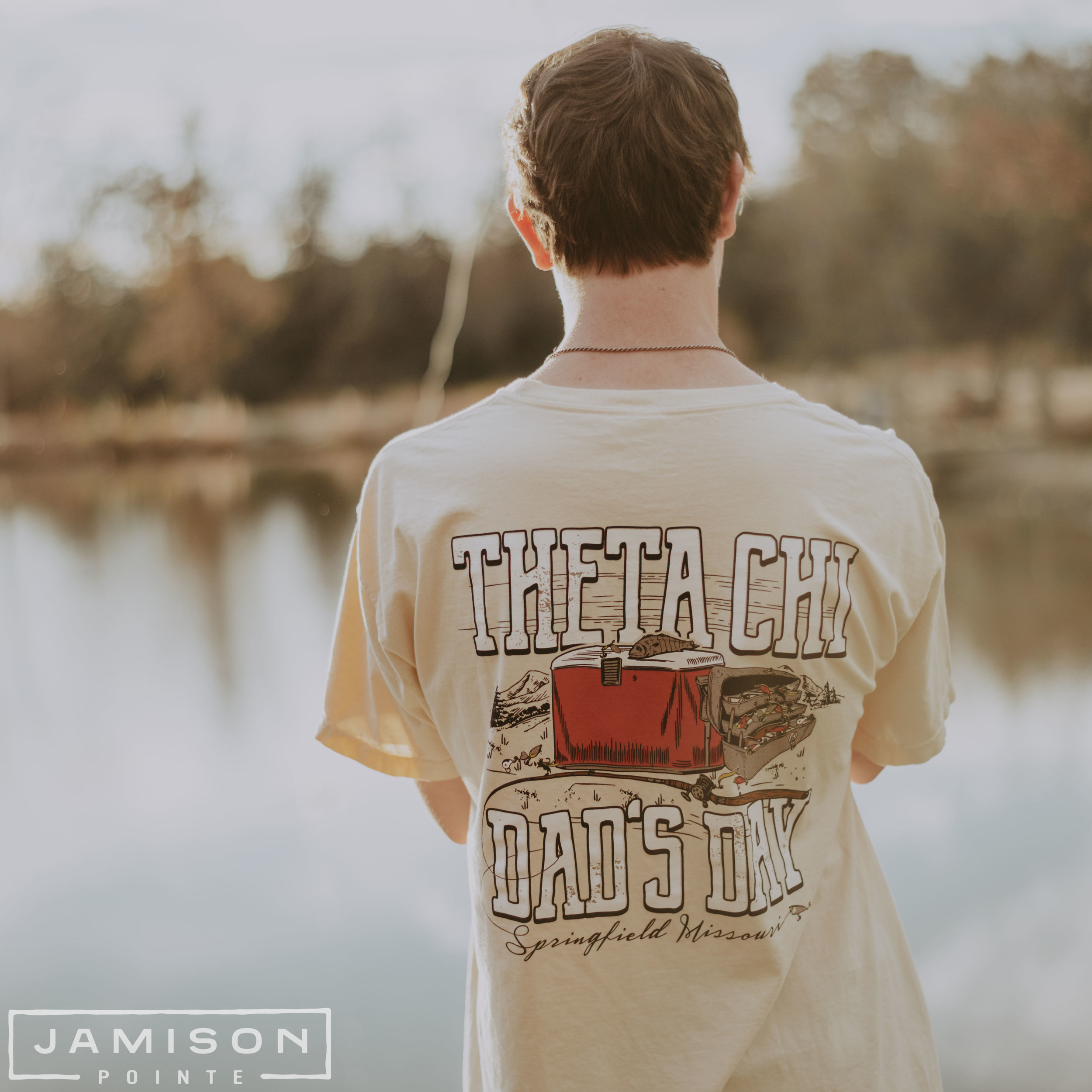 Theta Chi Fishing Dads Day Tee