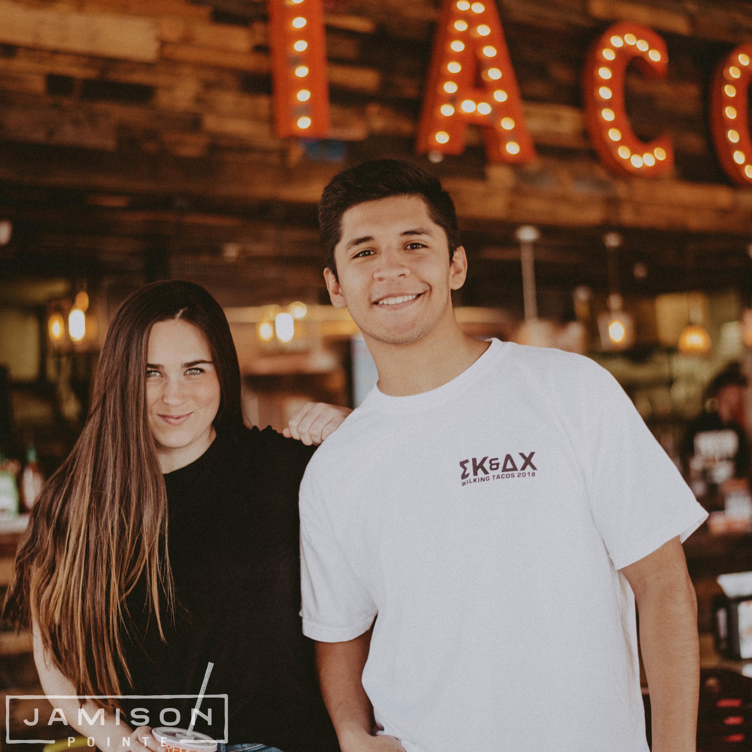 Delta Chi Tacos Philanthropy Tee