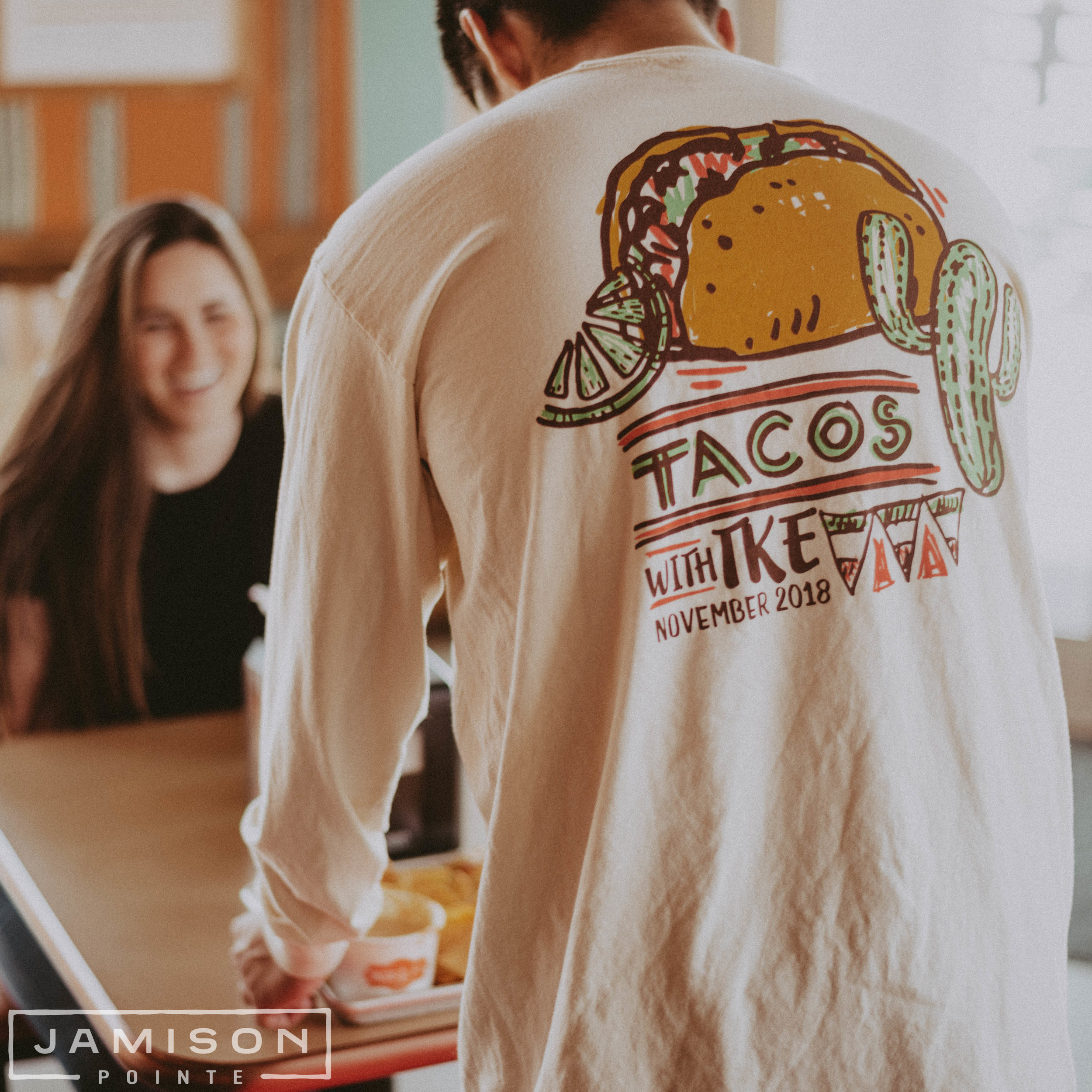 Tau Kappa Epsilon Tacos Philanthropy Tshirt