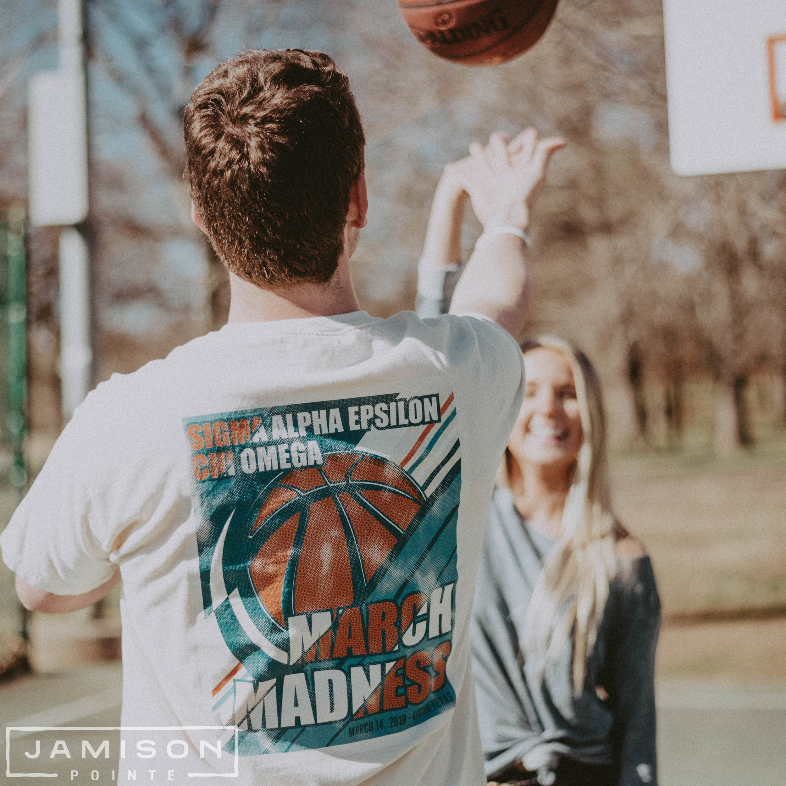 Sigma Alpha Epsilon March Madness Tshirt