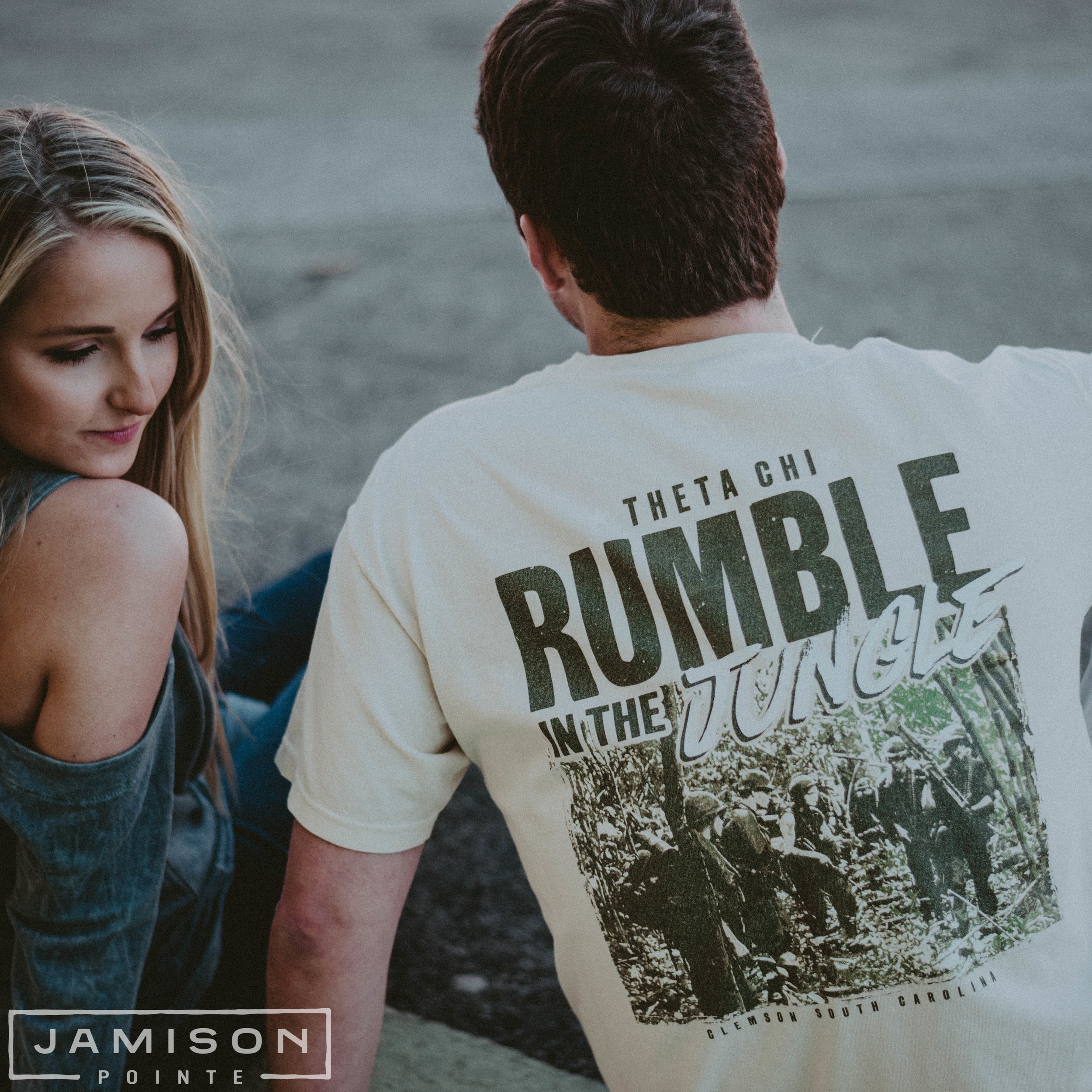 Theta Chi Rumble in the Jungle Tee