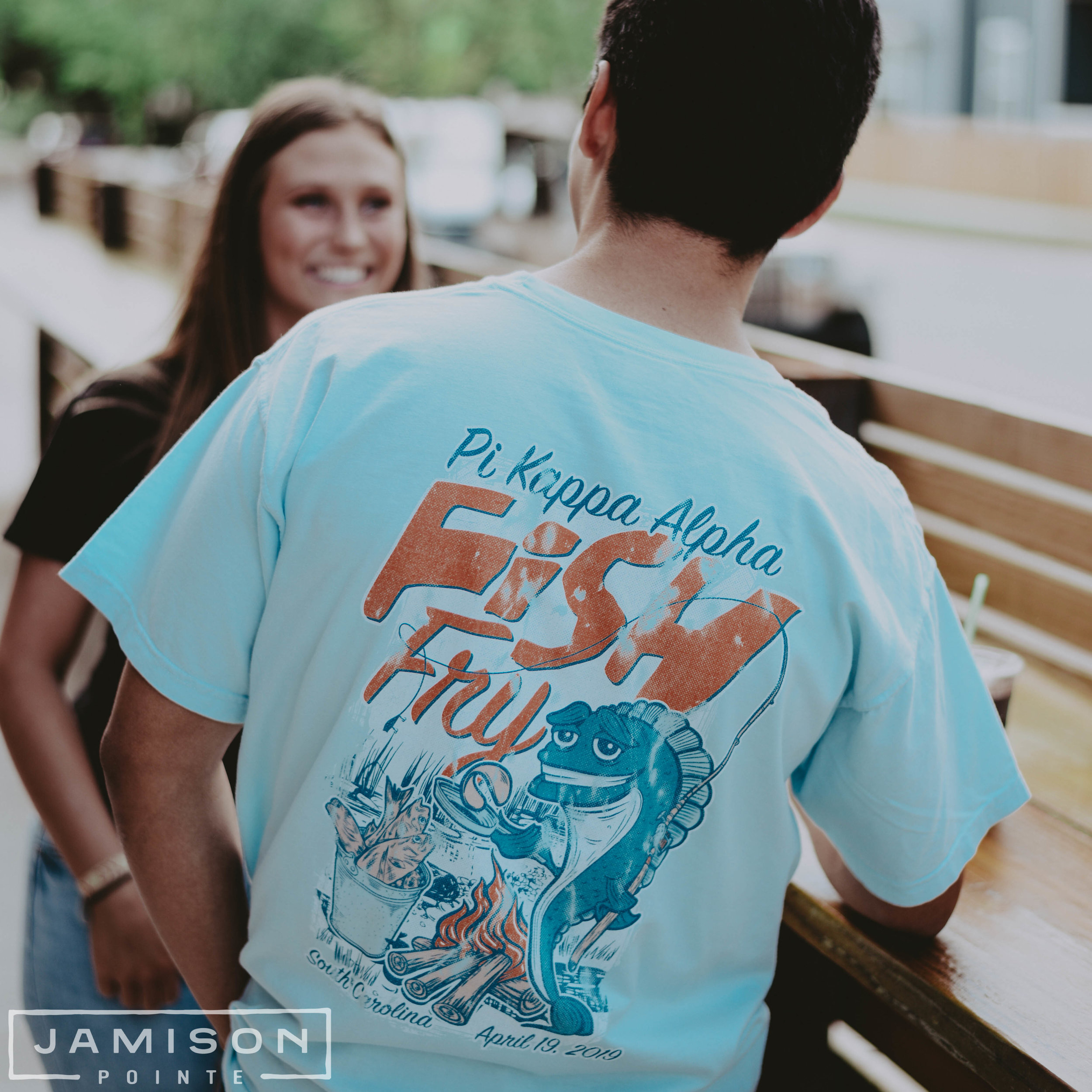 Pi Kappa Alpha Fish Fry T-shirt