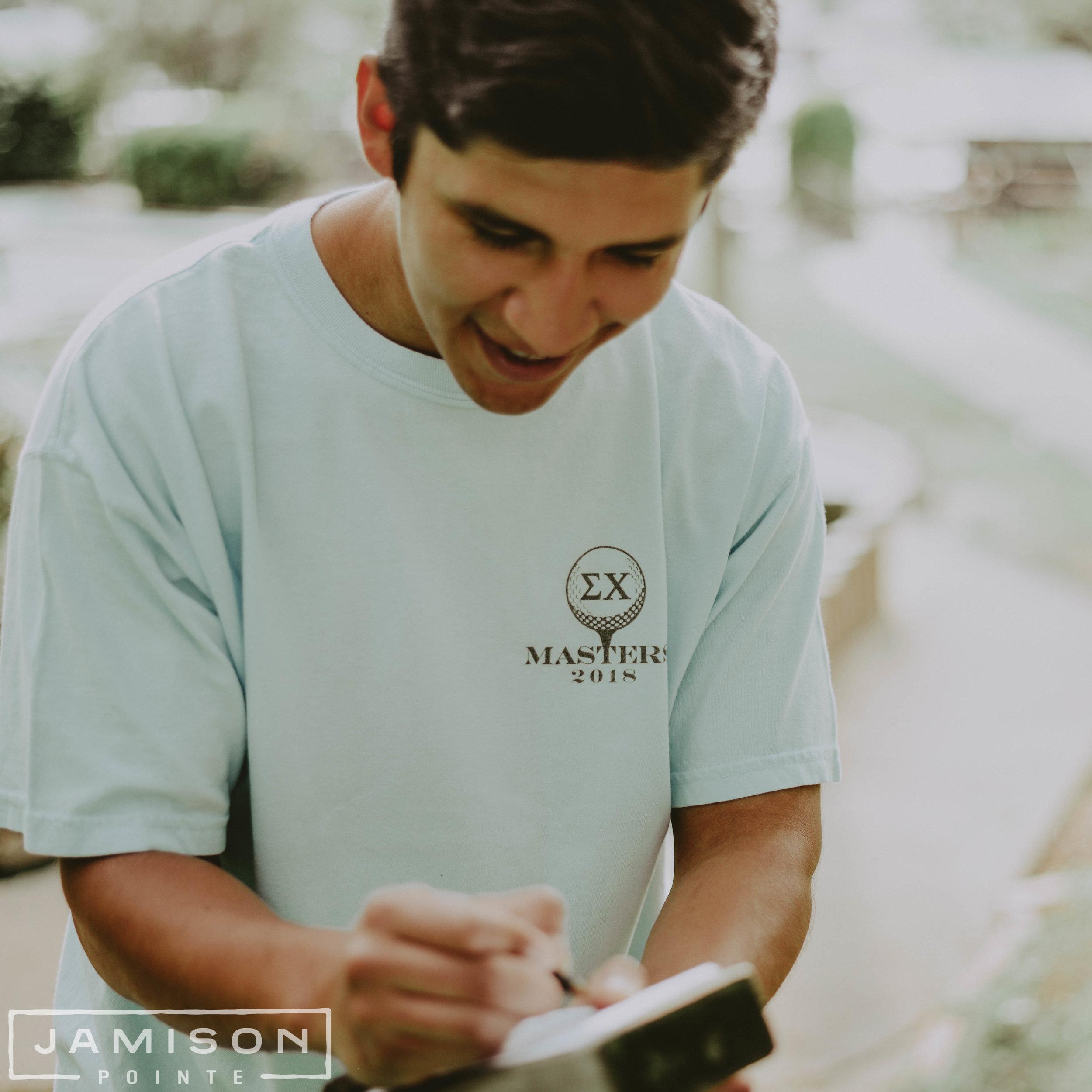 Sigma Chi Masters T-shirt