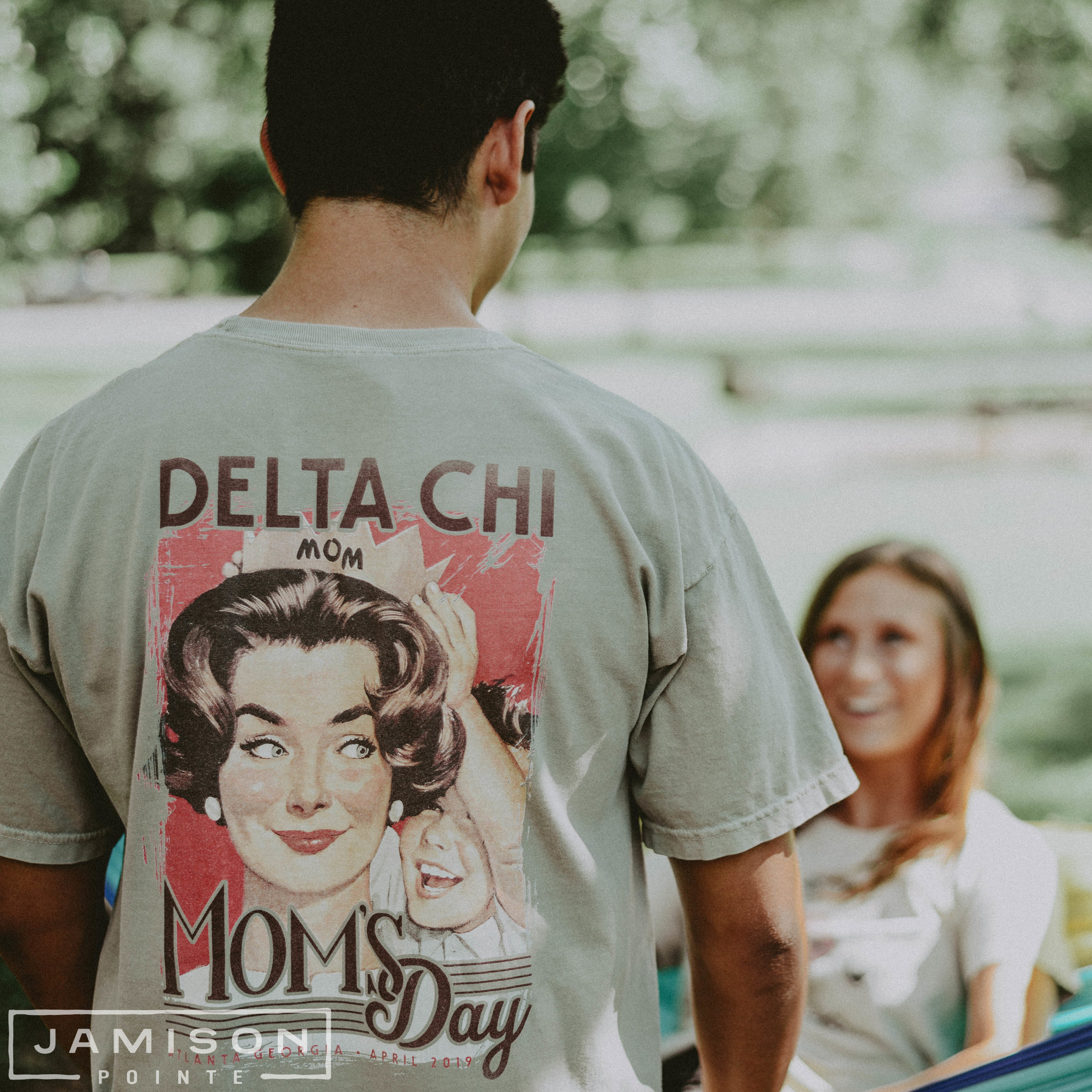 Delta Chi Moms Day Tee