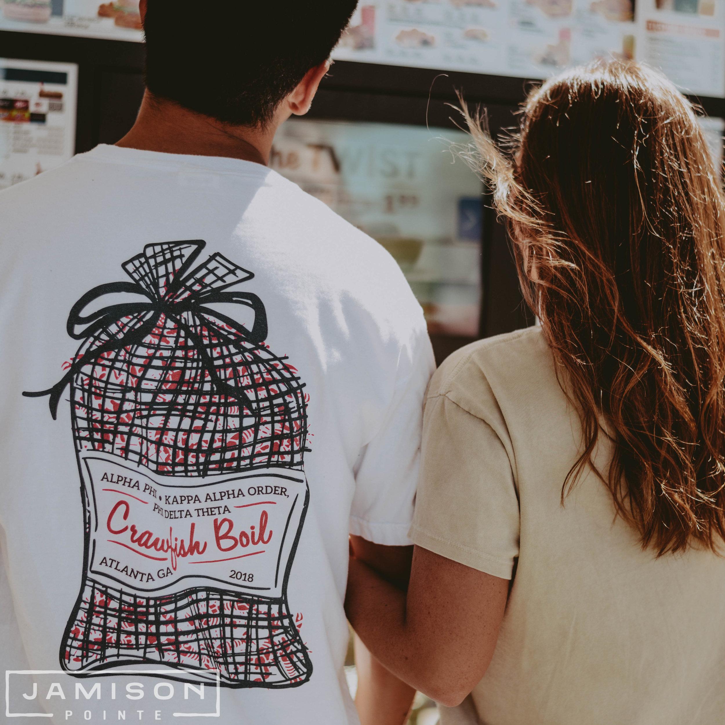 Phi Delt Crawfish Boil T-shirt