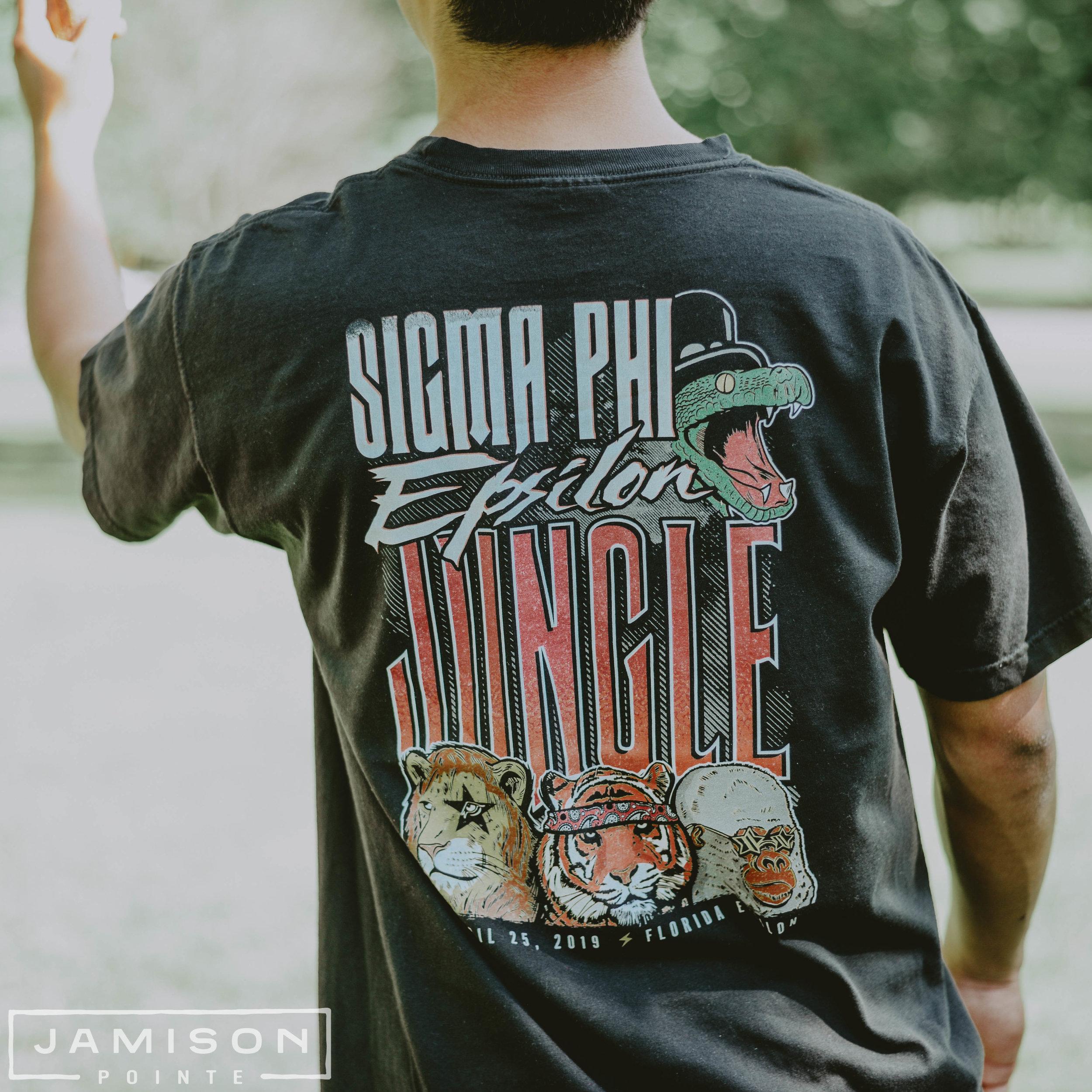 Sigma Phi Epsilon Jungle Tshirt