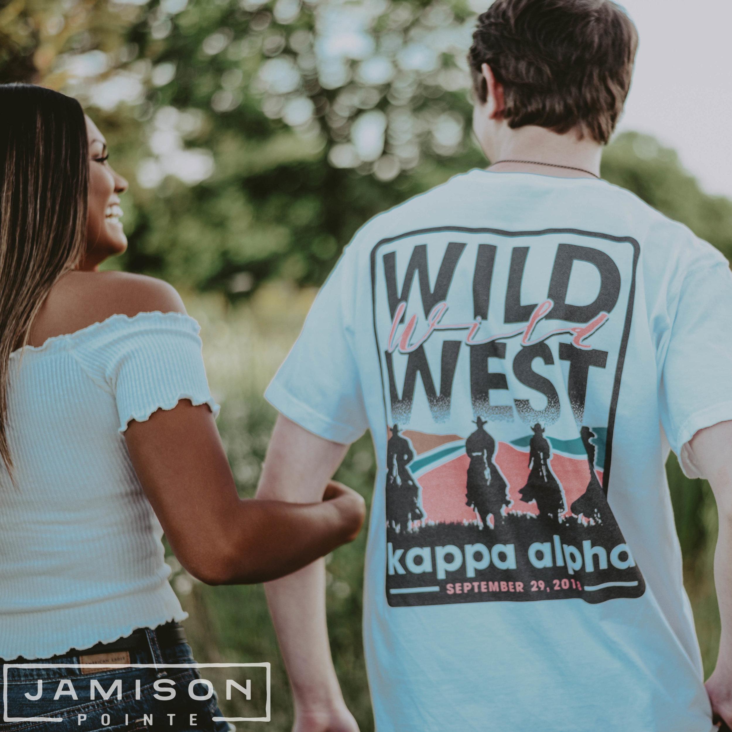 Kappa Alpha Wild West Social Tee