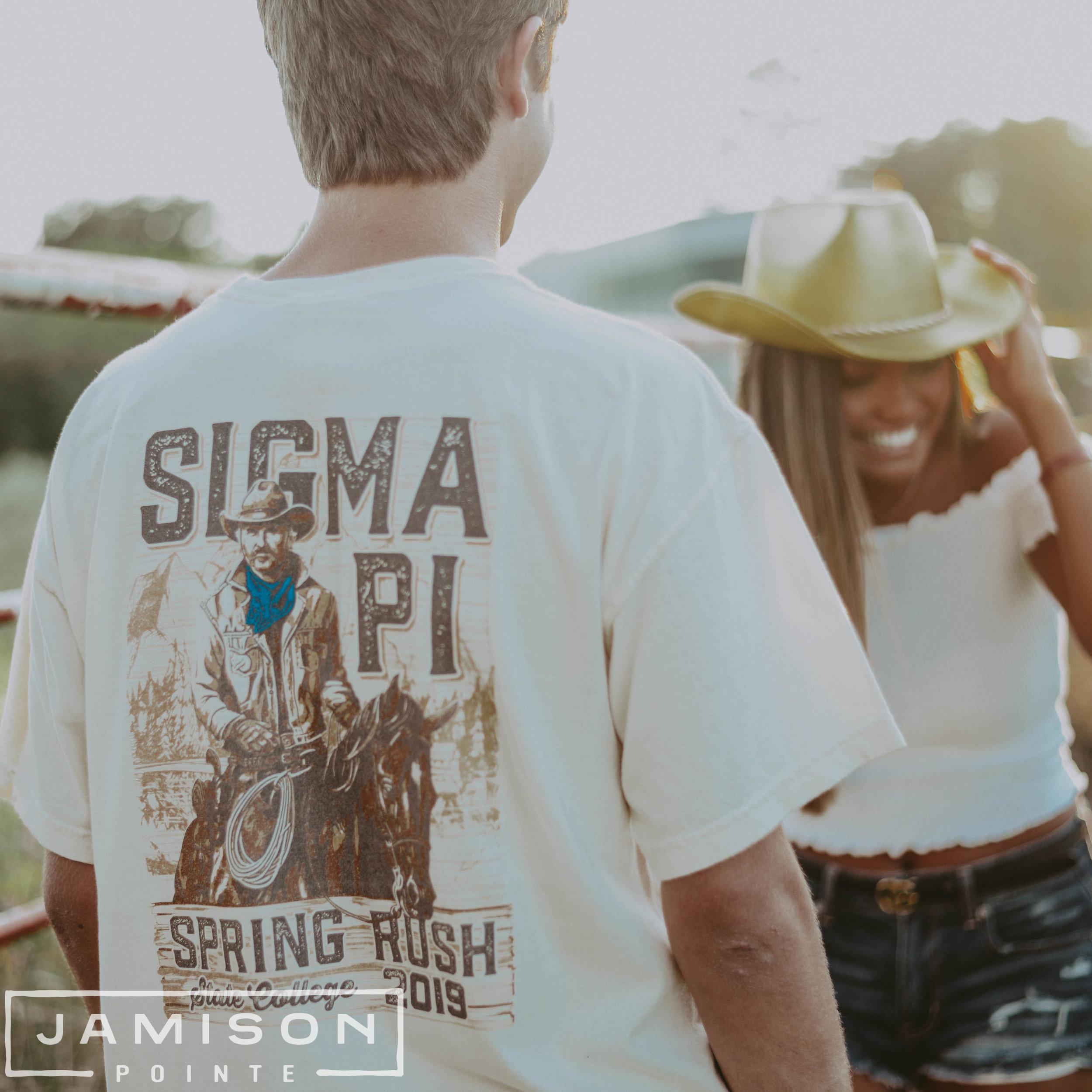 Sigma Pi Spring Rush Tee