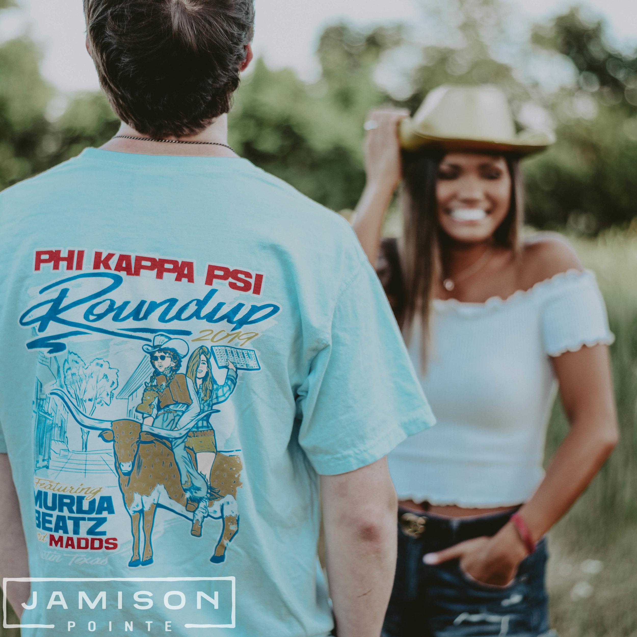 Phi Kappa Psi Roundup T-shirt