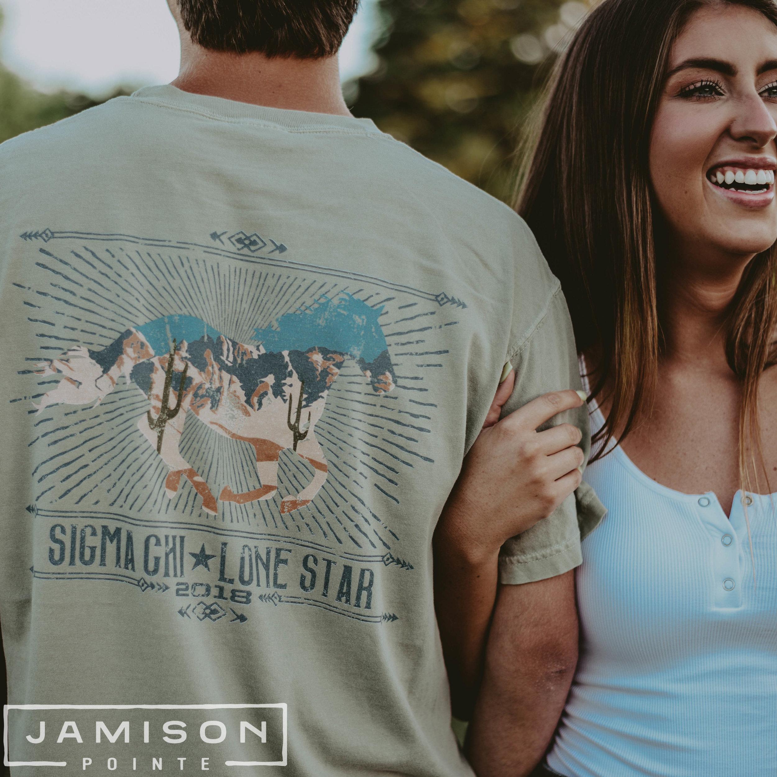 Sigma Chi Lonestar T-shirt