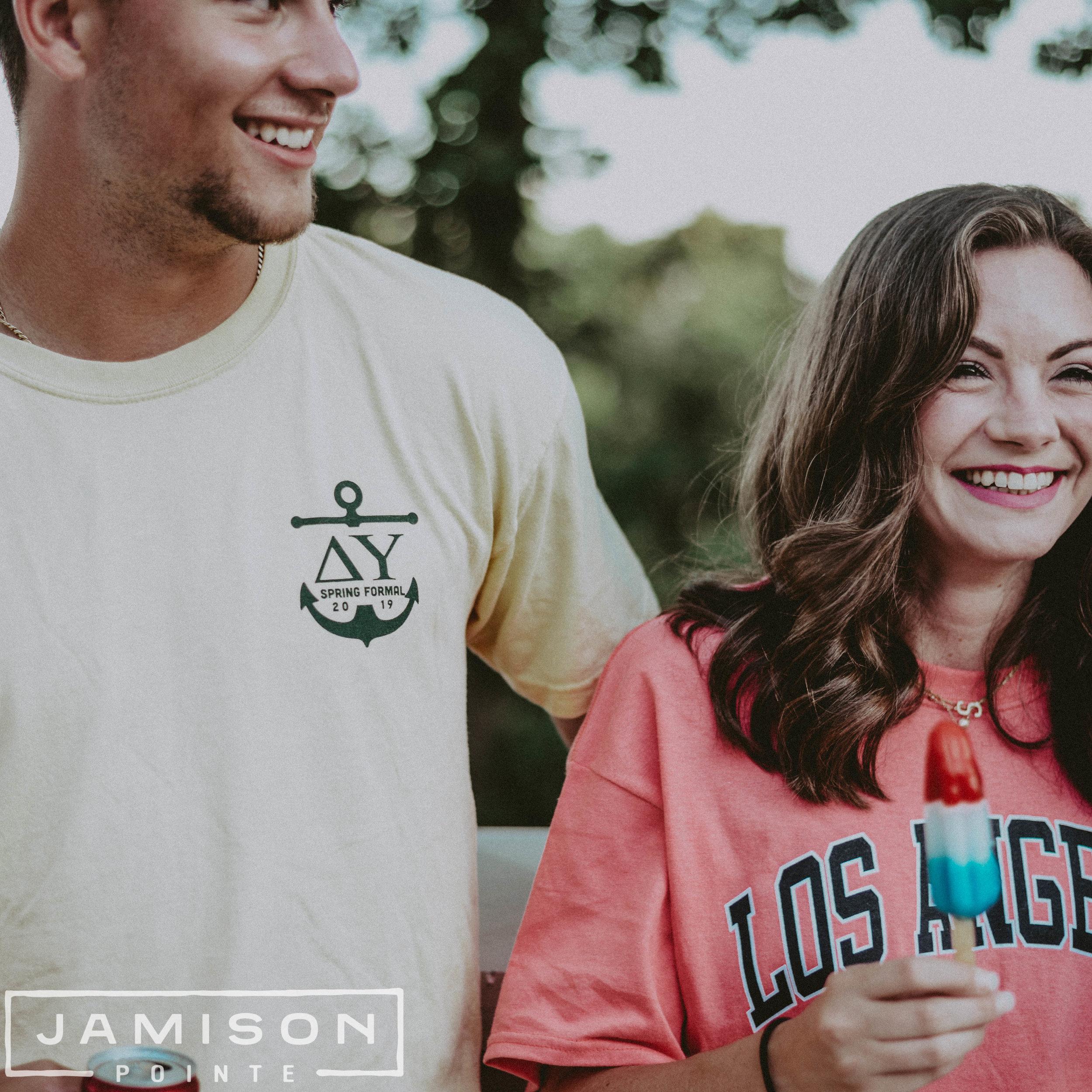 Delta Upsilon Spring Formal T-shirt