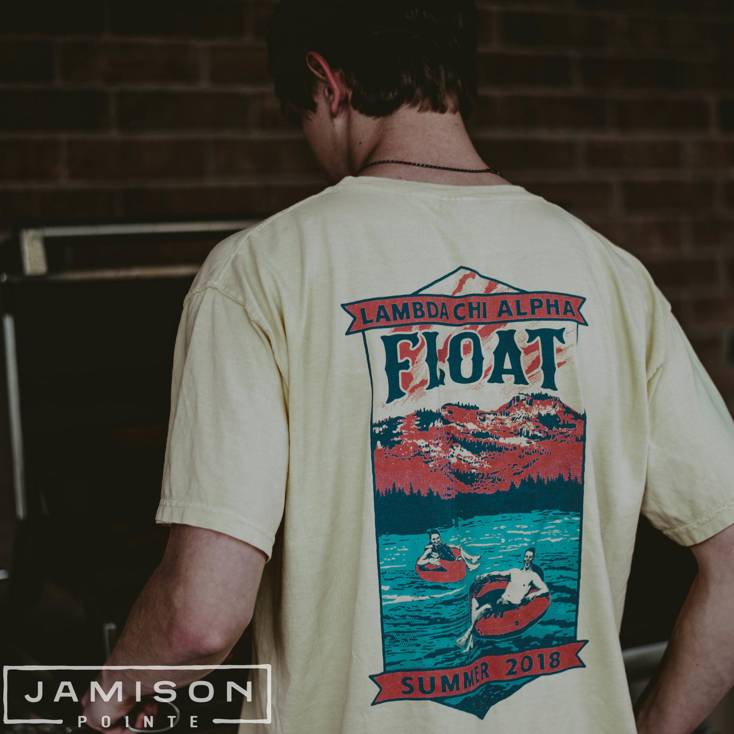 Lambda Chi Alpha Summer Float Trip Tee