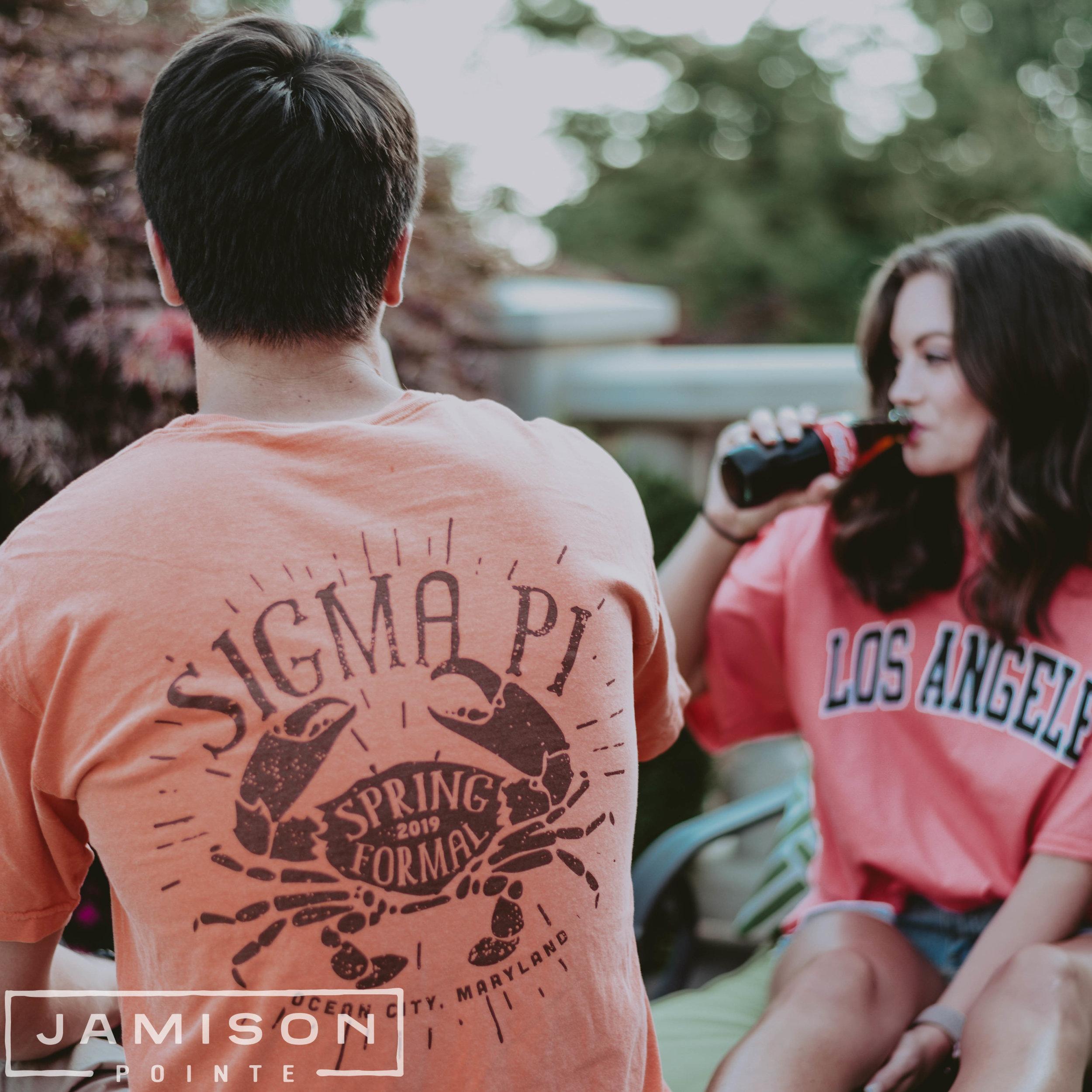 Sigma Pi Spring Formal Tshirt