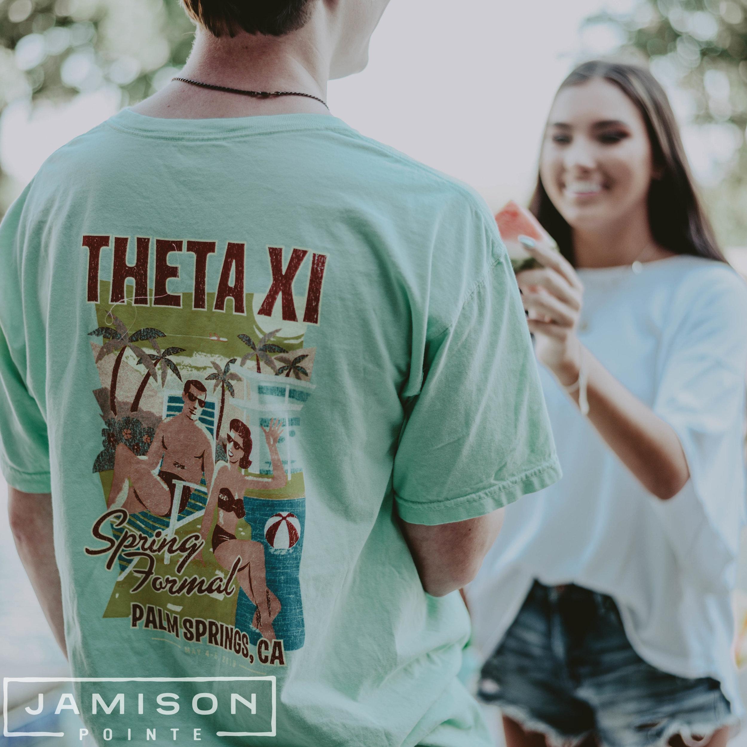 Theta Xi Spring Formal Tshirt