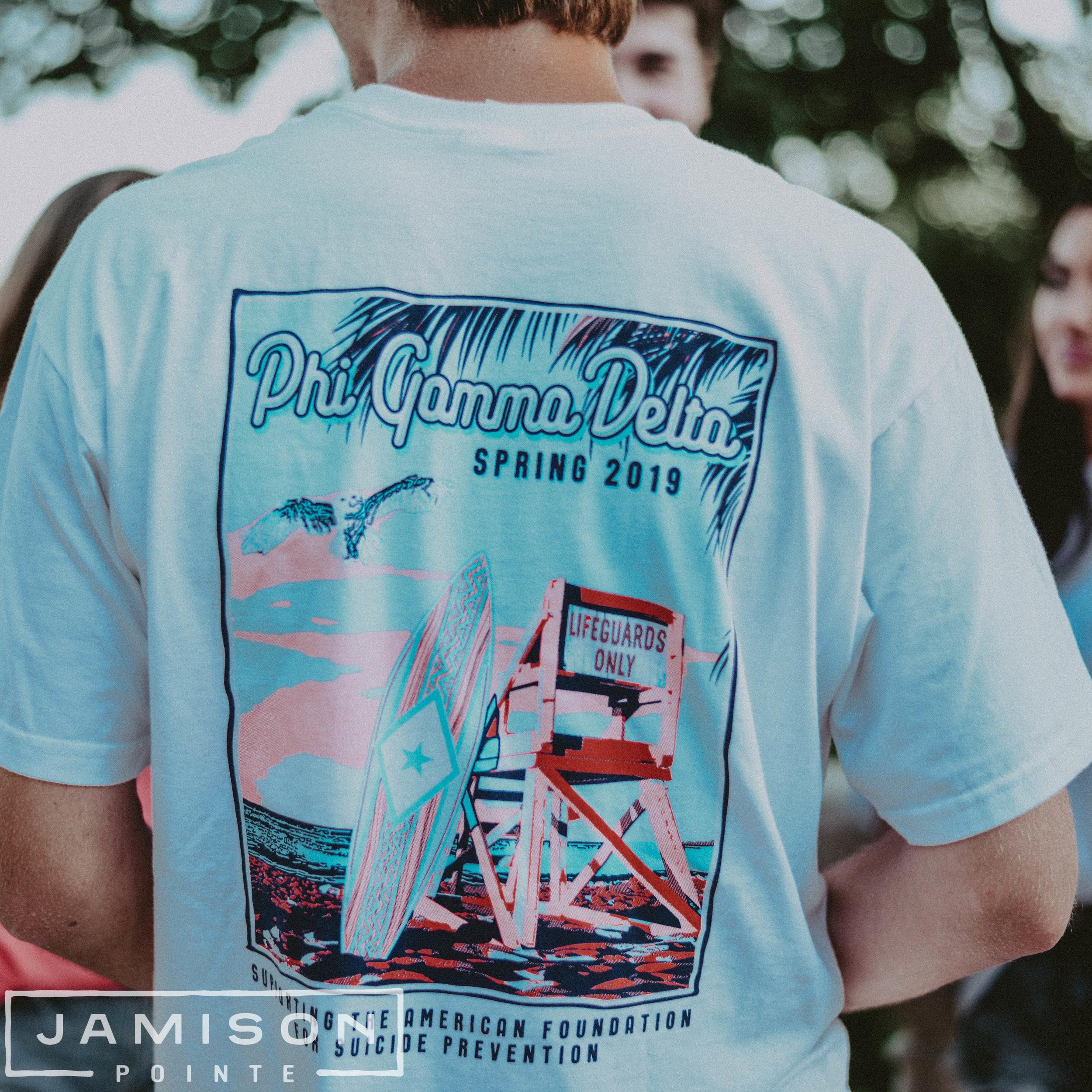 Phi Gamma Delta Spring Philanthropy Tee
